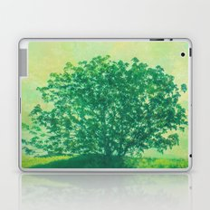 Green Tree Laptop & iPad Skin
