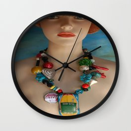 Help Is On The Way Wall Clock