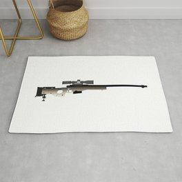 Sniper Rifle Rug