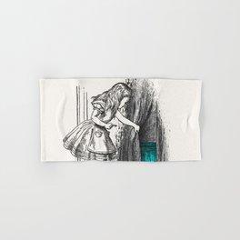 Follow The White Rabbit Hand & Bath Towel