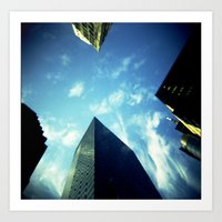 building Art Prints featuring Building by Jacquie Fonseca
