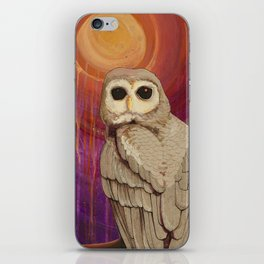 Skulking by Owl Light iPhone Skin