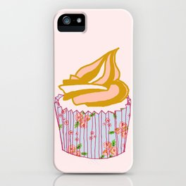 Cute as a cupcake! iPhone Case