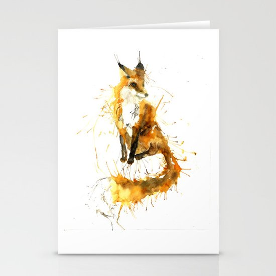 Bushy Tailed Stationery Cards