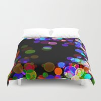 bubbles Duvet Covers featuring Bubbles by haroulita
