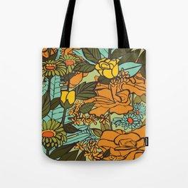 retro garden Tote Bag