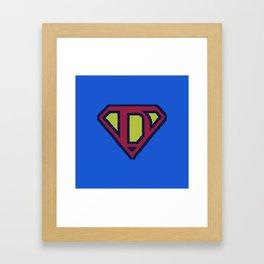 SuperDad 2 Framed Art Print
