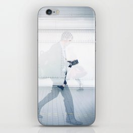 """""""they who should love me / walk right through me"""" iPhone Skin"""