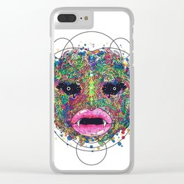 BeautifullScary Clear iPhone Case
