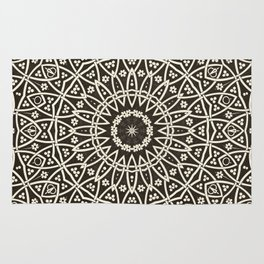 Circular Mosaic Rug