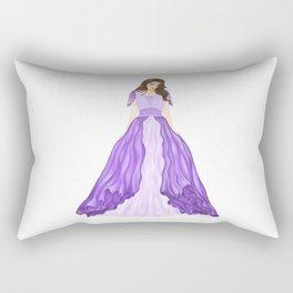 The Purple Dress Rectangular Pillow