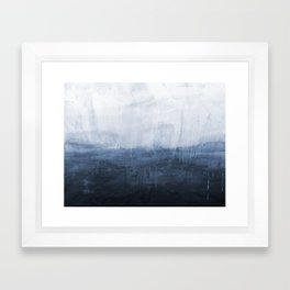 The Storm - Ocean Painting Framed Art Print