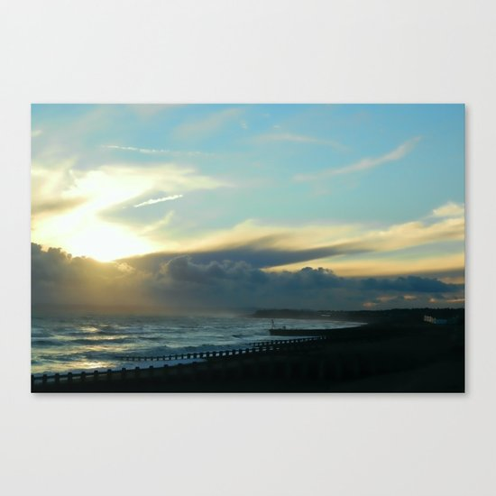 Approaching Squall Canvas Print