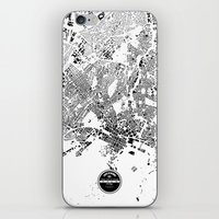 oslo iPhone & iPod Skins featuring OSLO by Maps Factory