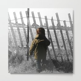Boy in Williamsburg, BK. Metal Print