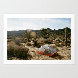 Desert Mornings Art Print