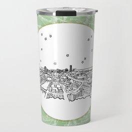 Dublin, Ireland, Europe City Skyline Illustration Drawing Travel Mug