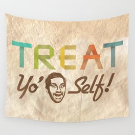 Treat Yo' Self Wall Tapestry