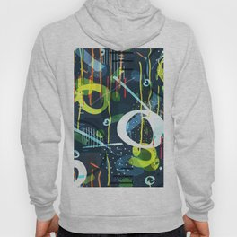 Abstract modern geometric shapes pattern Hoody