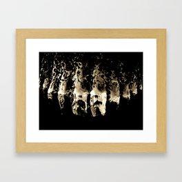 Angel Toes, Hoover Dam Framed Art Print