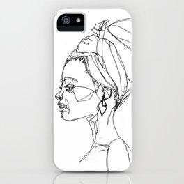 head scarf iPhone Case
