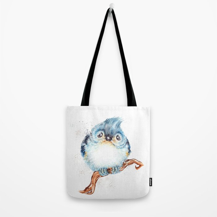 Baby titmouse Tote Bag