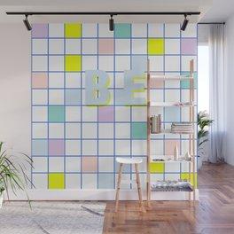 Be Windowpane Grid Wall Mural
