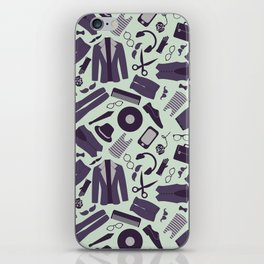 Male clothes and accessories iPhone Skin