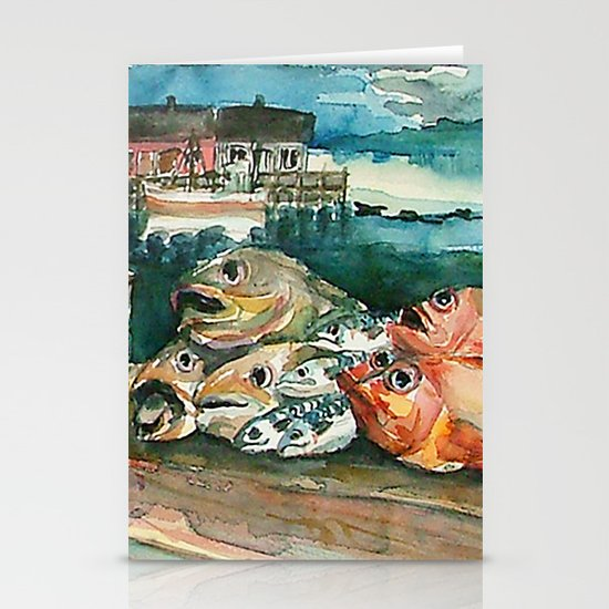 Memories frome the coast of Norway Stationery Cards