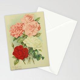 Rose Mrs J H Laing, Rose LaFrance, Rose Louise Van Houtte, Rose Margaret Dickson72 Stationery Cards