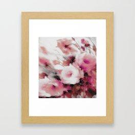 FLOWER PATTERN8 Framed Art Print