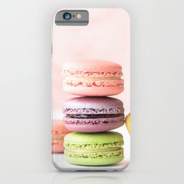 Macarons Sweet Pastel iPhone Case