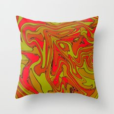 Teased Tartan Throw Pillow