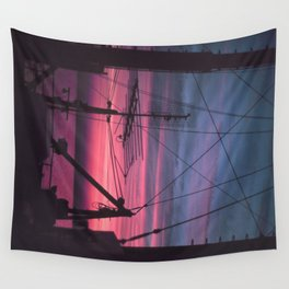 Commercial Riggings with Sunset Wall Tapestry