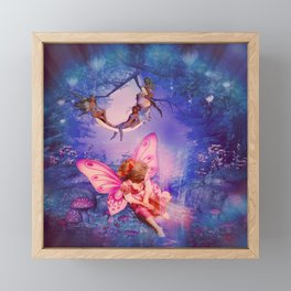 Lillie, Princess of the Fairy Realm Framed Mini Art Print