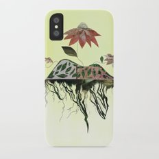Uprooted Flowers Slim Case iPhone X