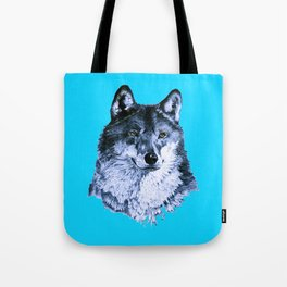 Season Of the Wolf - A Study in Sapphire1 Tote Bag