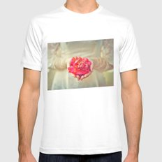 Offering Mens Fitted Tee White MEDIUM