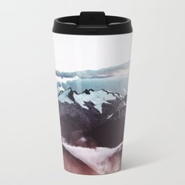 Faded mountain Travel Mug