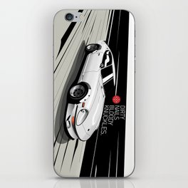 Datsun 240ZG G-Nose (White) iPhone Skin