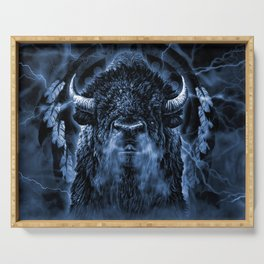 SPIRIT BUFFALO Serving Tray