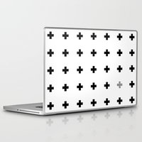 oil Laptop & iPad Skins featuring +oil by Tihana