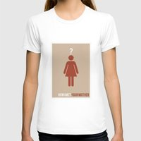 how i met your mother T-shirts featuring How I Met Your Mother - Minimalist by Marisa Passos