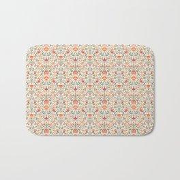 Birdsong Creme Smaller Pattern Bath Mat