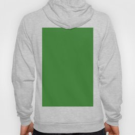 Solid Bright Jungle Green Color Hoody