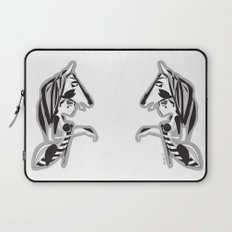 The knight - Emilie Record Laptop Sleeve
