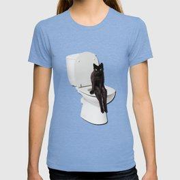 Toilet Cat T-shirt