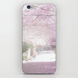 Cherry Blossom Sunday iPhone Skin