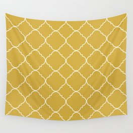 Yellow Moroccan Wall Tapestry