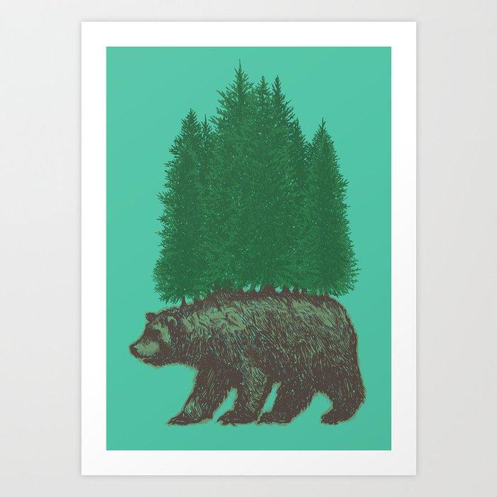 Nature Walk Art Print